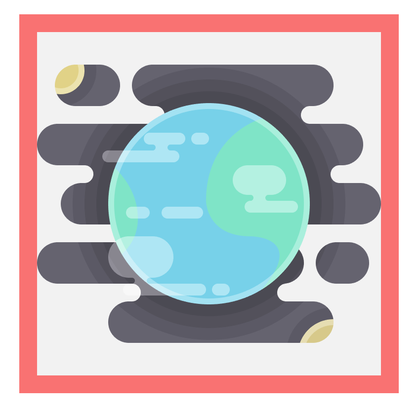 adding the clouds to the earth icon