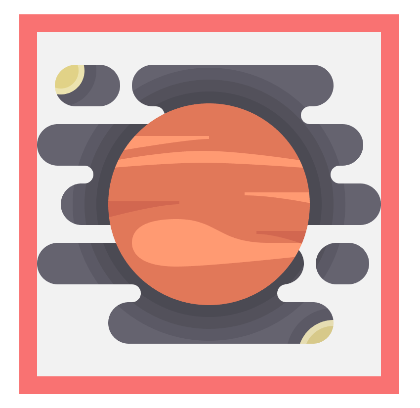 adding detail lines to the jupiter icon