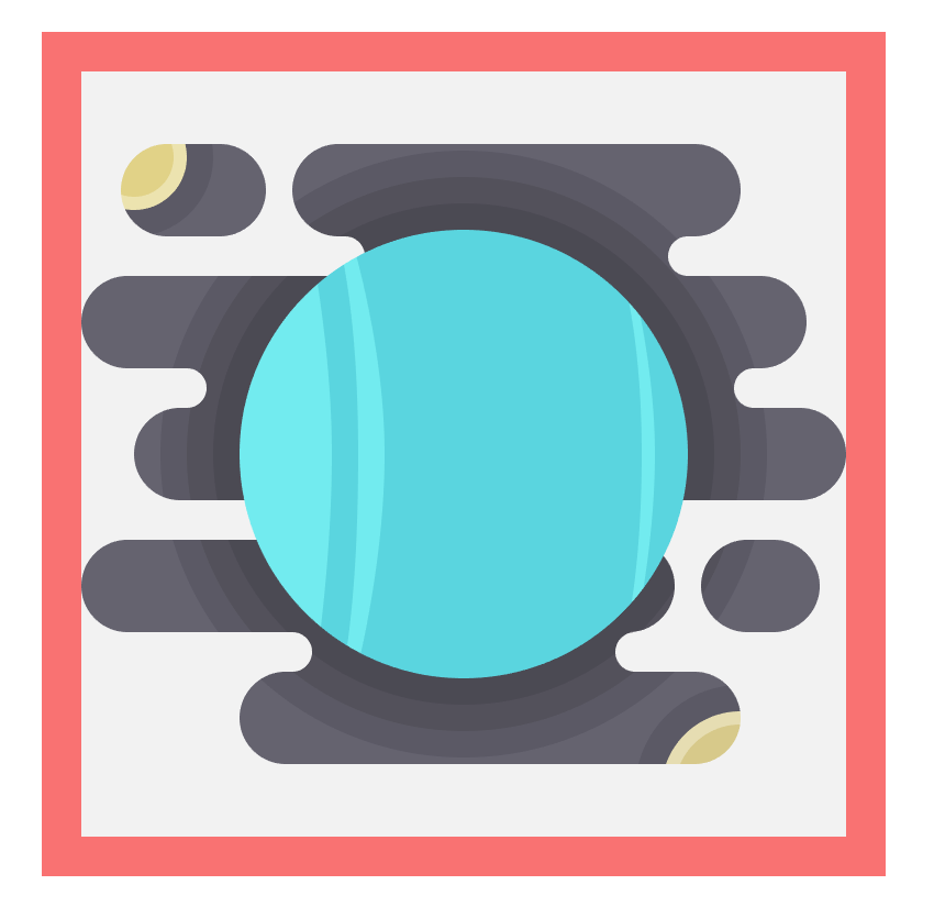adding the vertical stripes to the uranus icon