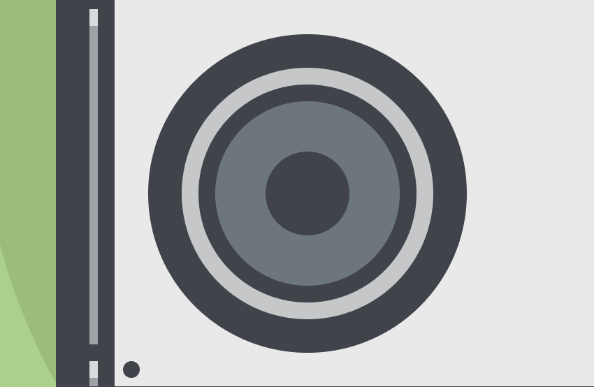 adding the secondary circle pair to the left speaker