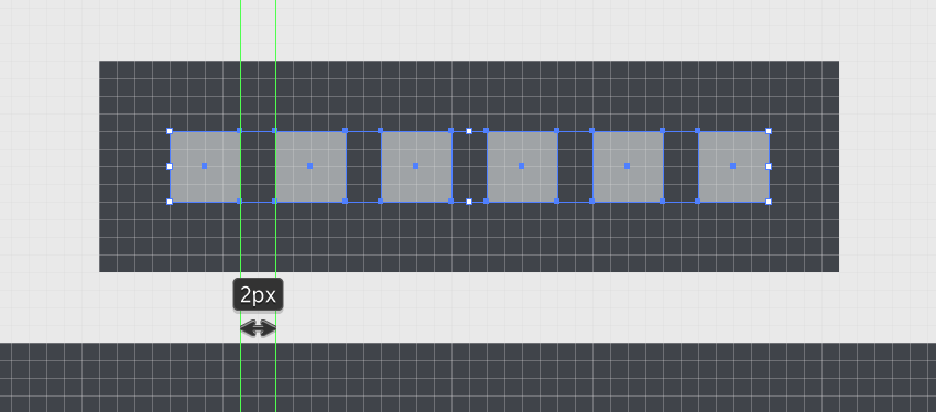 creating the main front buttons