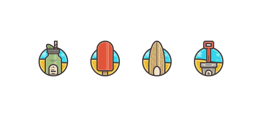 How to Create a Summer Icon Pack in Adobe Illustrator