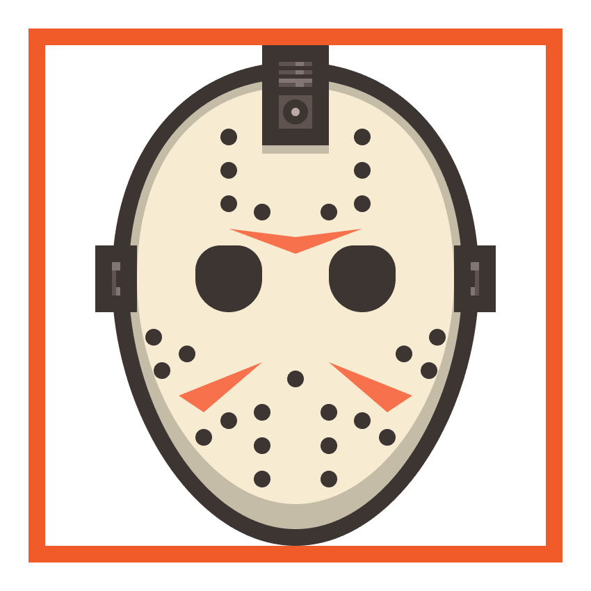 hockey mask icon finished