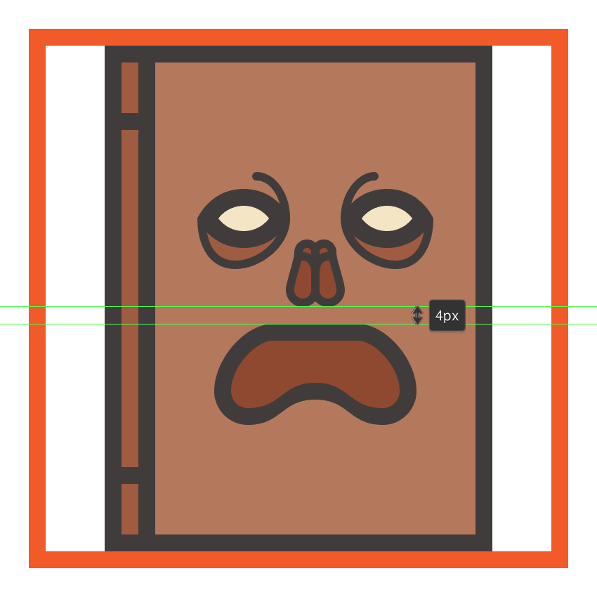creating and positioning the main shapes for the necronomicons mouth