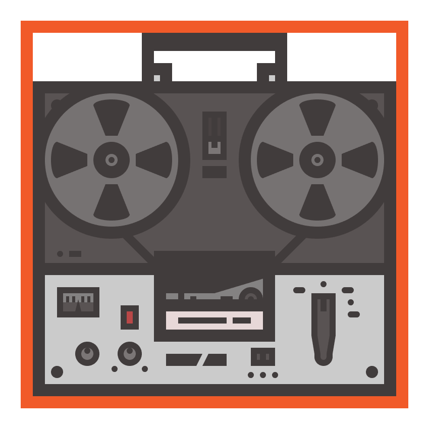 tape recorder icon finished