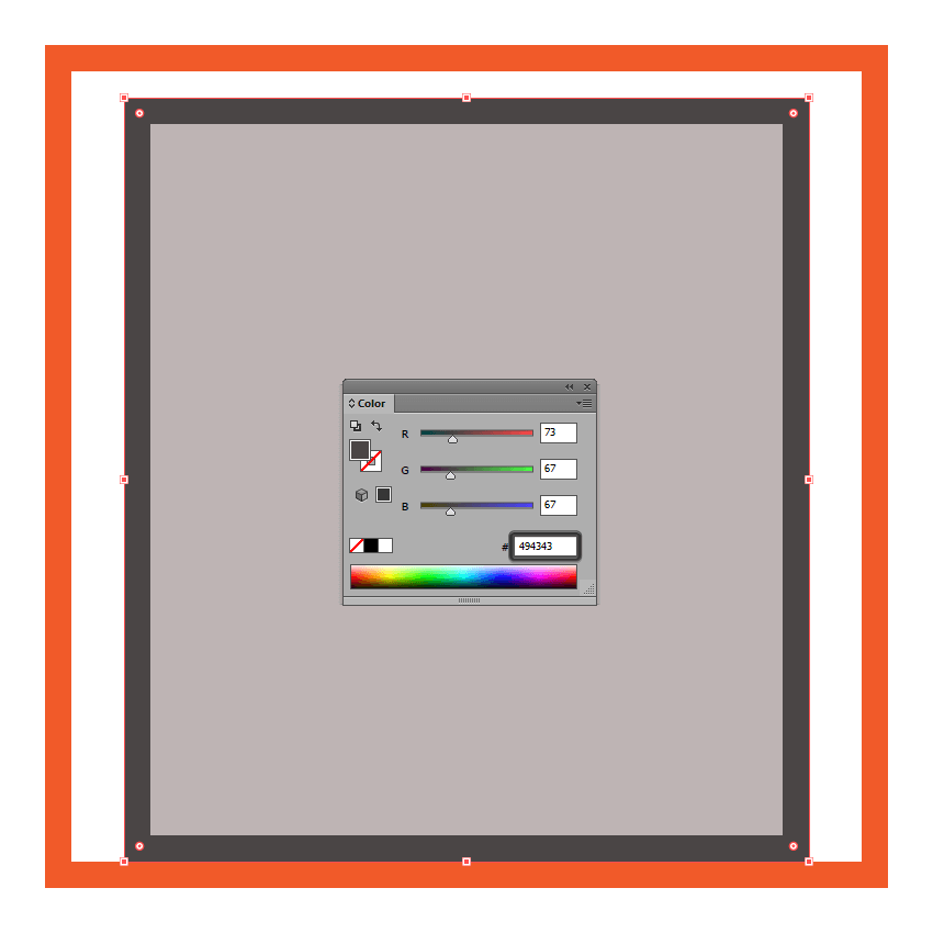 adjusting the color of the cdjs main outline
