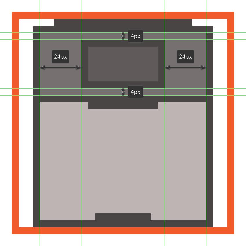 creating and positioning the cdjs display