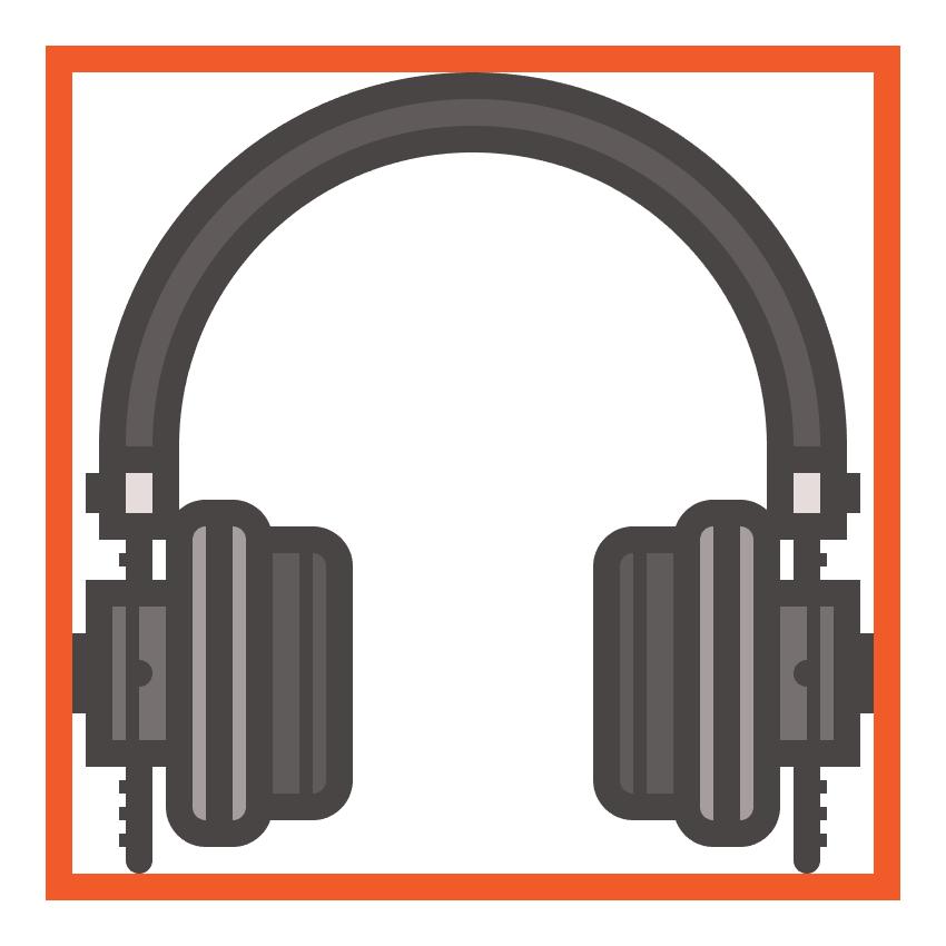headphones icon finished