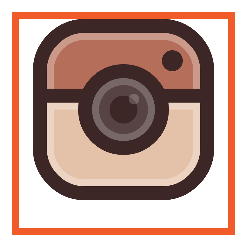 adding the outline to the instagram icons lens