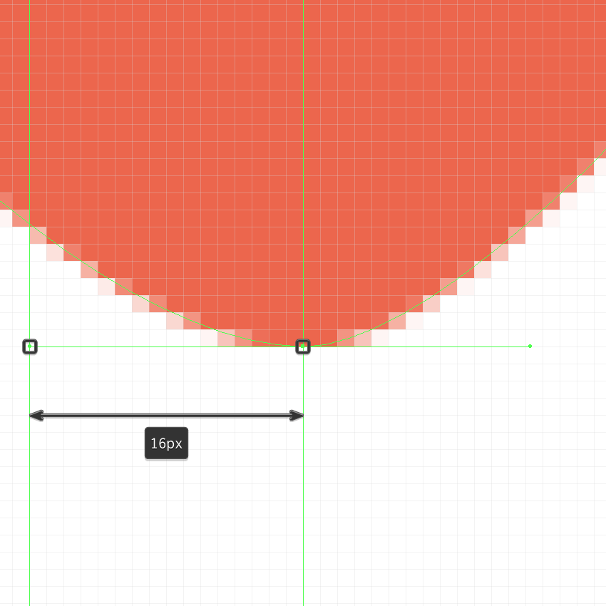 adjusting the bottom shape of the balloon icons larger heart