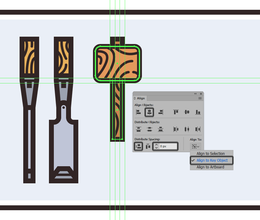 creating and positioning the main shapes for the hammers handle
