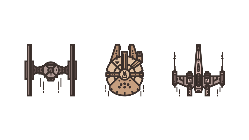 How to Create a Star Wars Themed Icon Pack in Adobe Illustrator