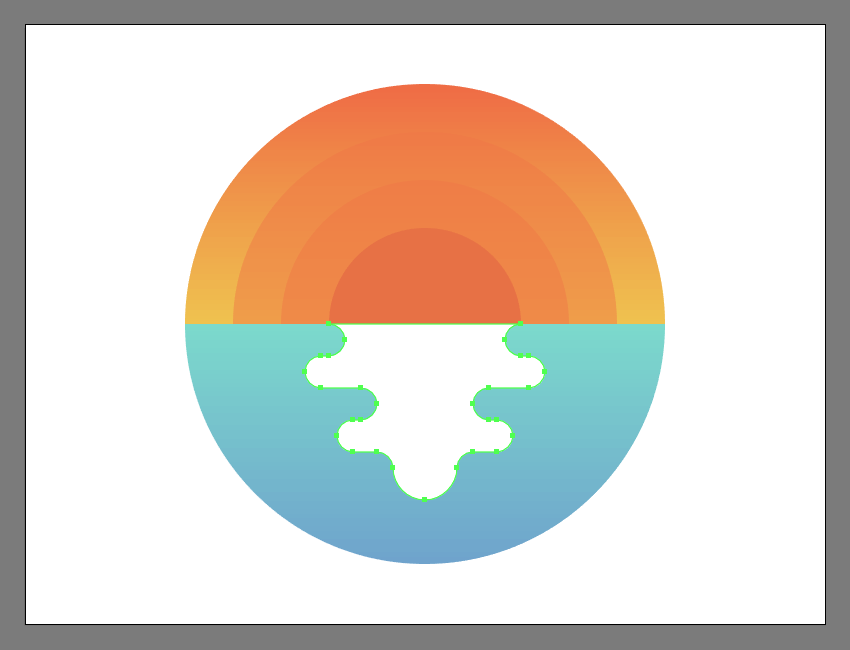 How to Create a Subtle Summer Sunset Textured Illustration in Adobe Illustrator