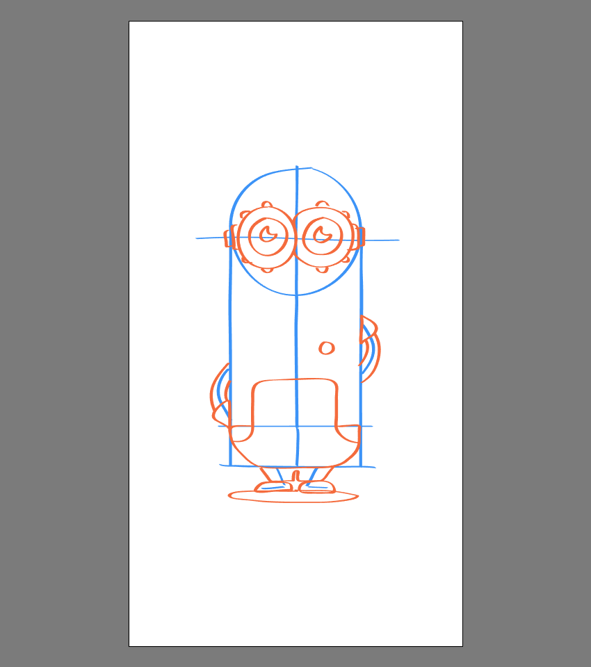How to Draw the Minions in Adobe Illustrator