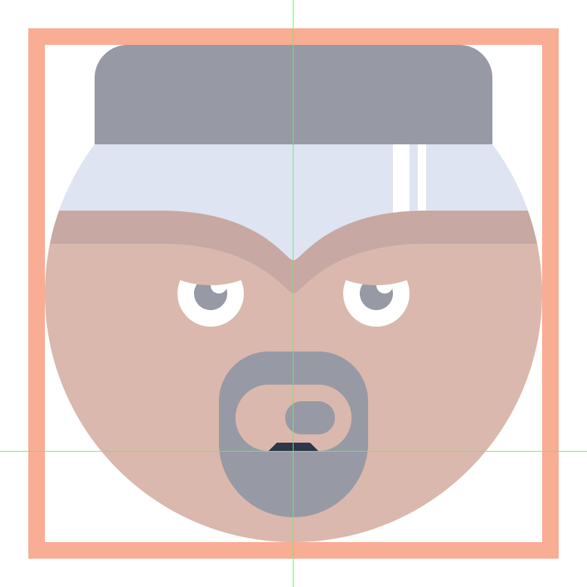 adding the little beard segment to the luke cage emoji