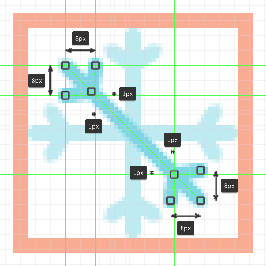 How to Create a Set of Snowflake Icons in Adobe Illustrator