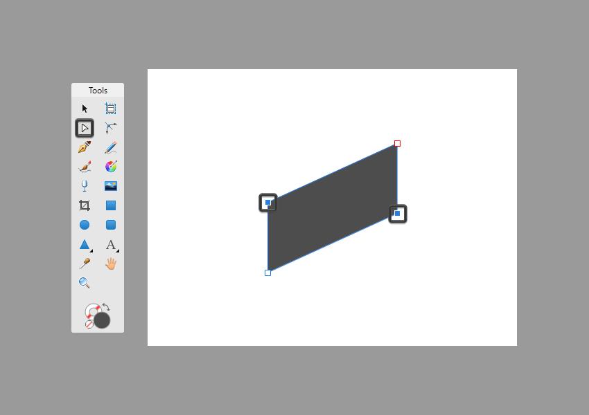 basic shape adjustment in affinity designer