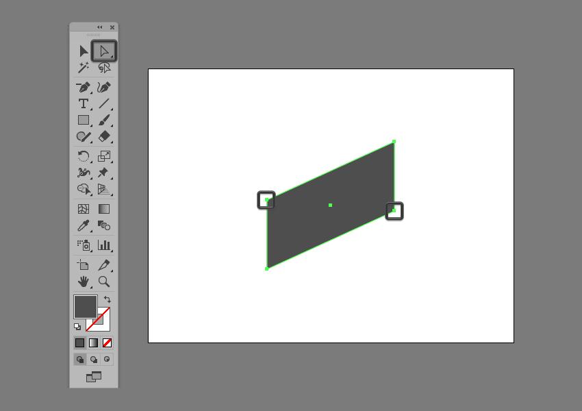 basic shape adjustment in illustrator