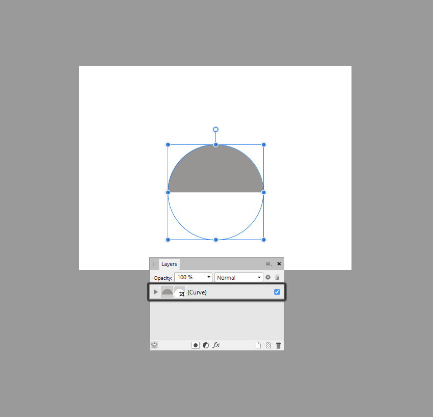 example of creating a clipping mask in affinity designer