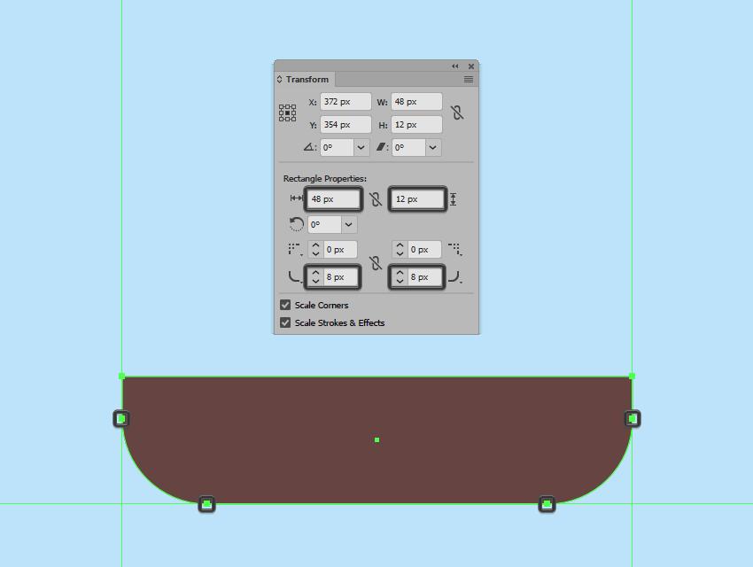adjusting the shape of the gondola