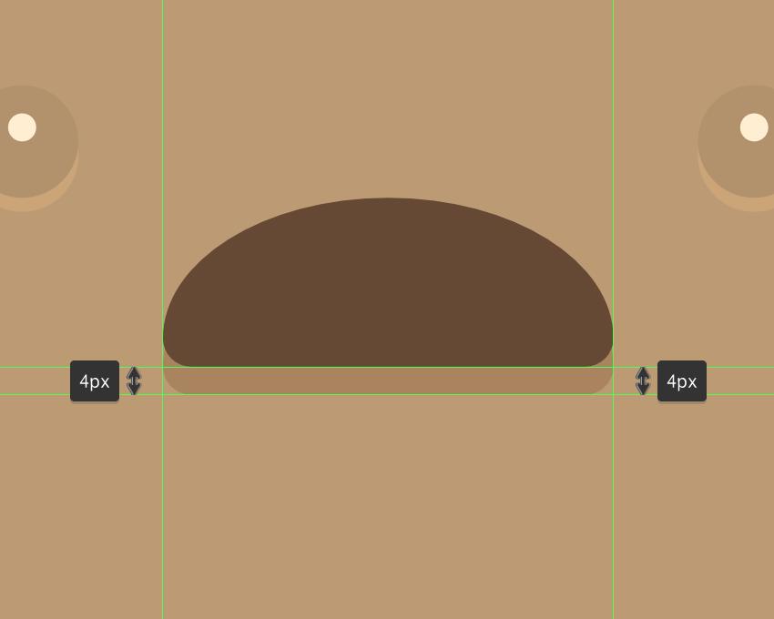 how to create oval shape ice cream