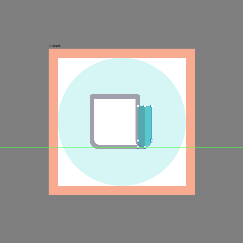 adding the shadow to the side section in ad