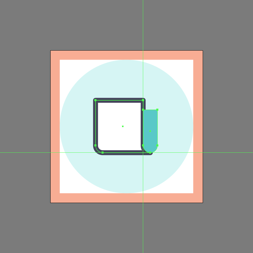 adjusting the shape of the side section in ai