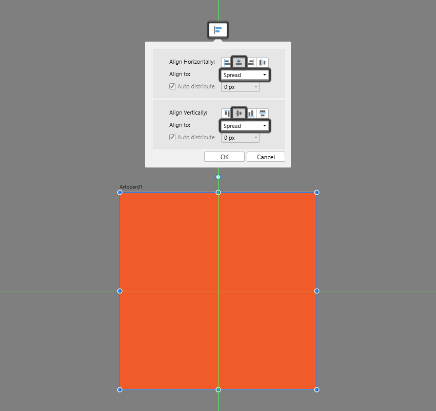 creating the base grid in ad