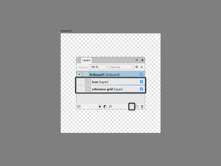 setting up the layers in ad