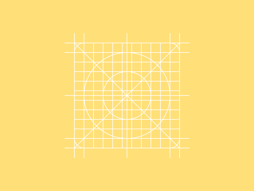 example of complex reference grid for icons