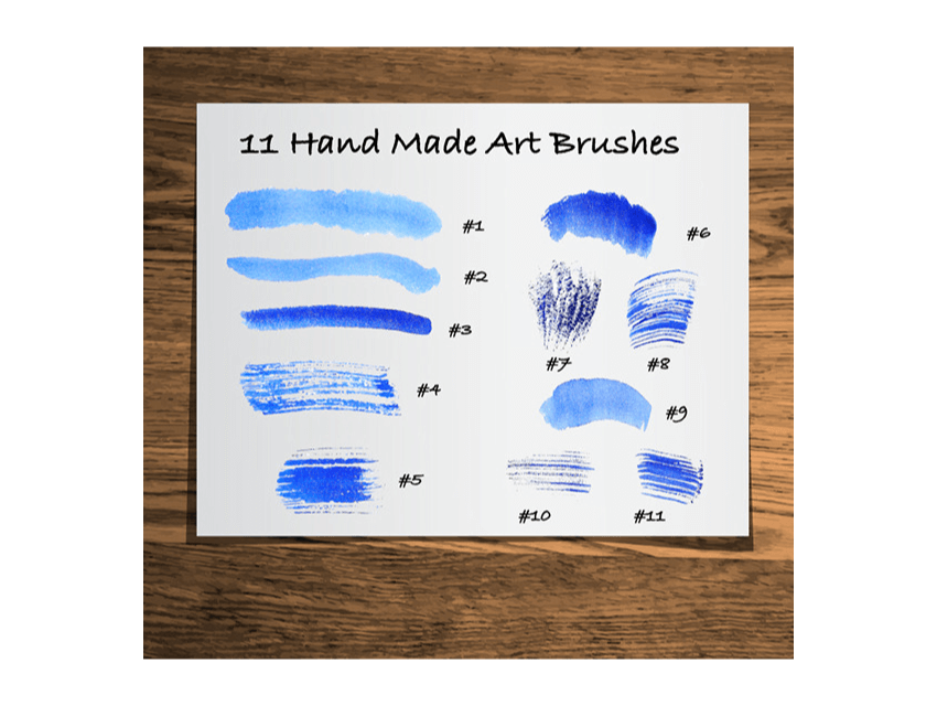 watercolor art brushes for illustrator