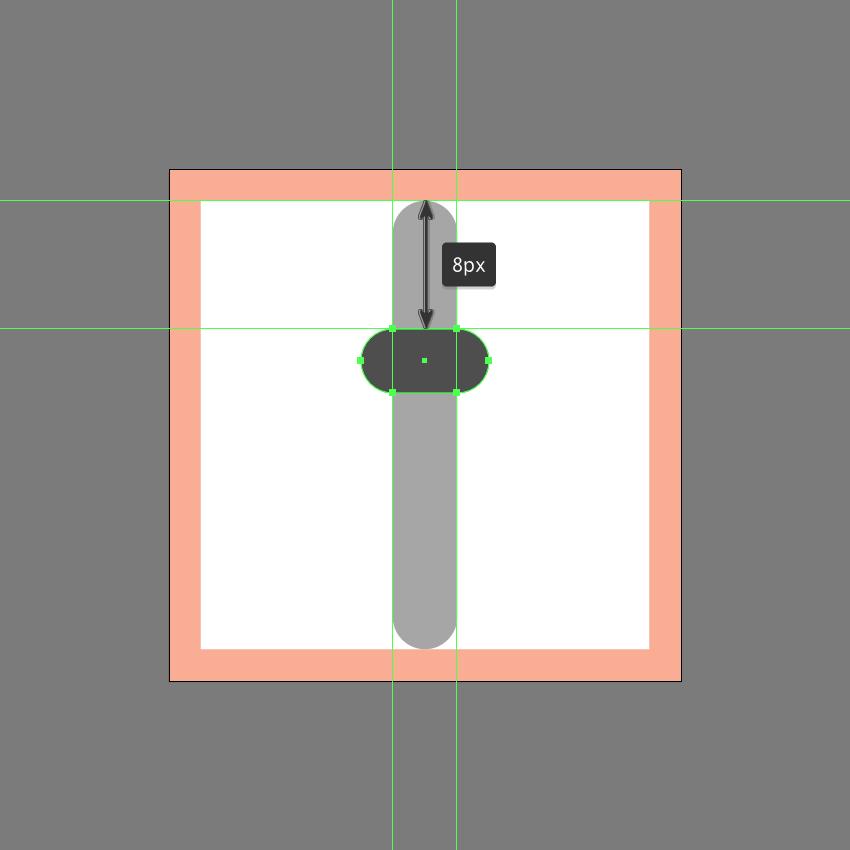 adding the knob to the center slider