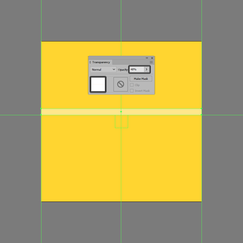 creating the main shape for the lighter section