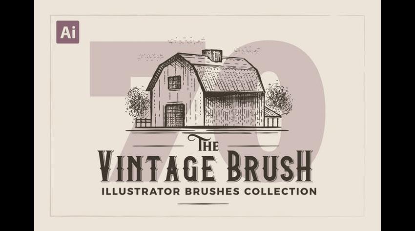 vintage brush pack