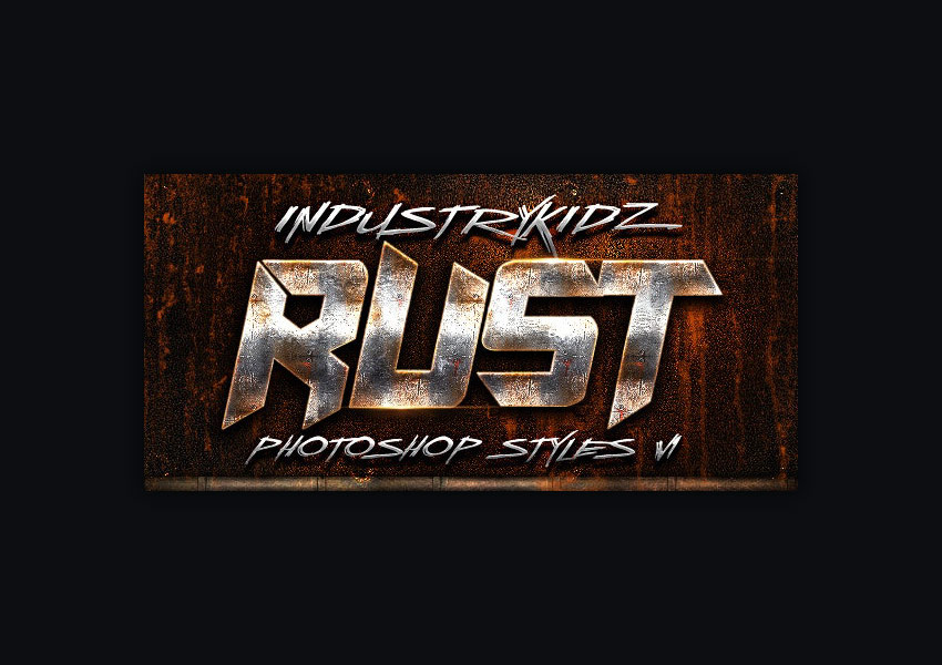 rust photoshop layer styles