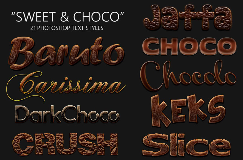 sweet and choco layer styles