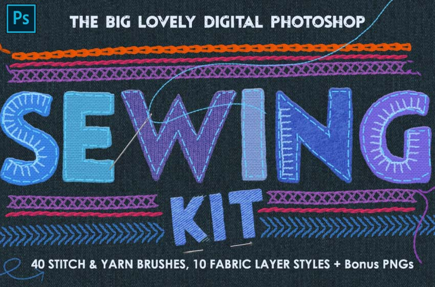 fabric photoshop layer styles