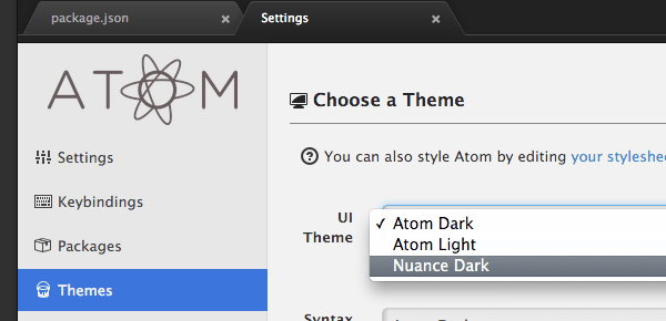How to Create a Custom Theme for Atom