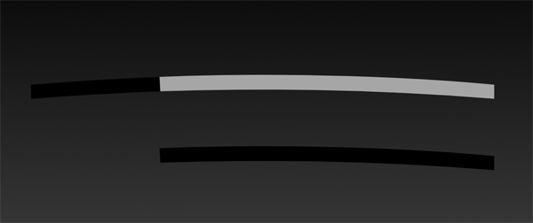 Rightmost shape colored light grey