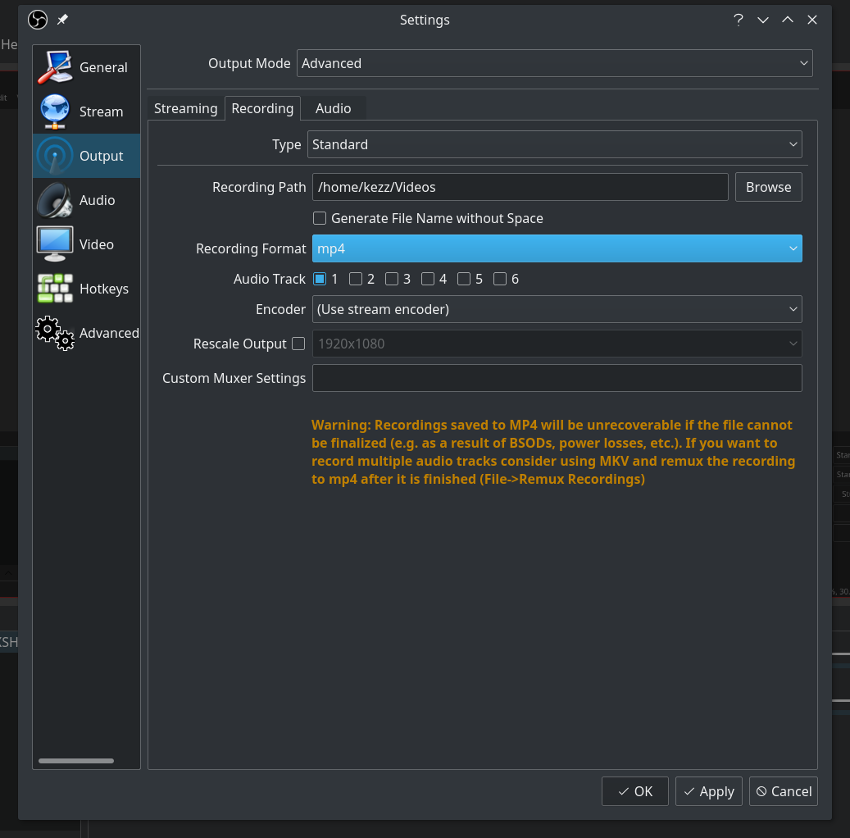 OBS Studio Screen Recording: Best Settings for Video