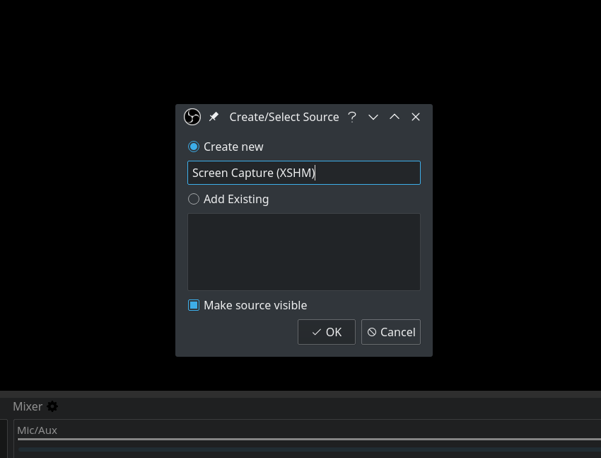 Quick Start: Screen Recording With Open Broadcaster Software