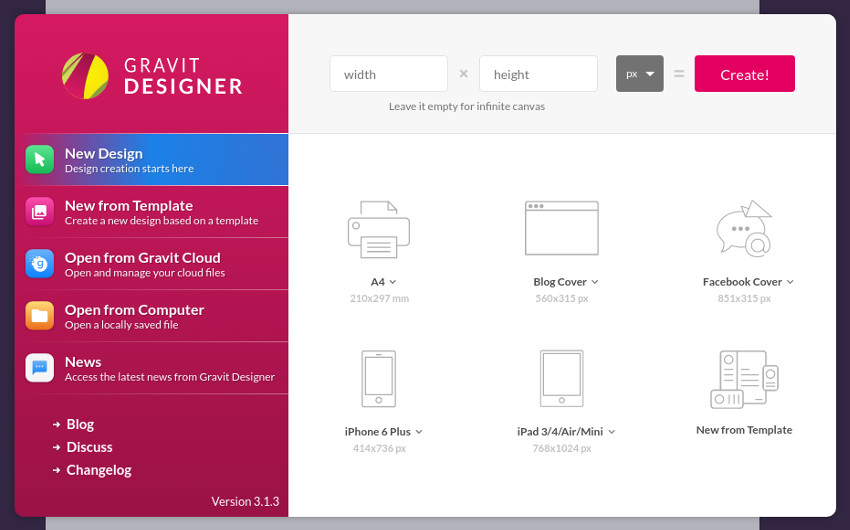 Getting Started With Gravit Designer