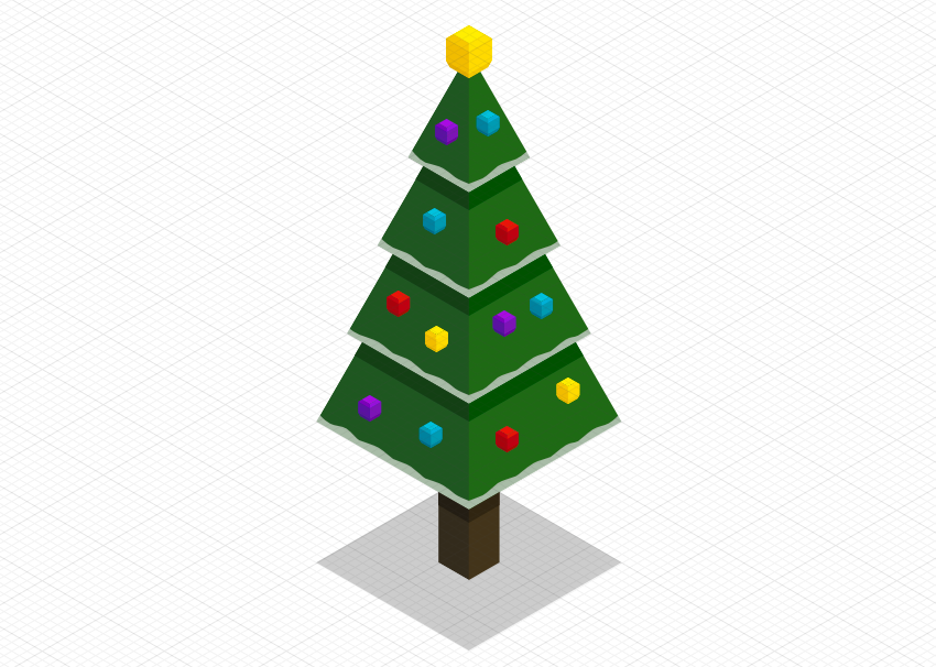 How to Make an Isometric Christmas Tree SVG in Affinity Designer