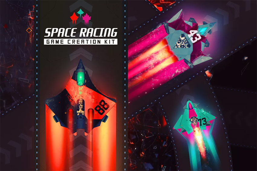 Space Racing Game Creation Kit