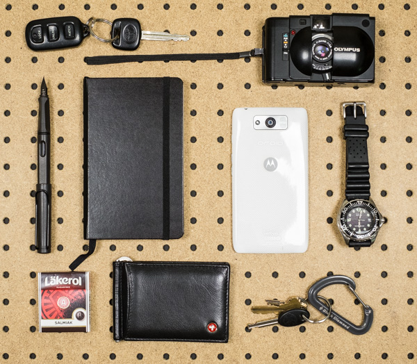 A look at my everyday essentials photograph