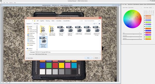 dng profile editor windows