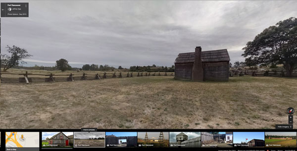 Viewing a Photo Sphere in Google Maps