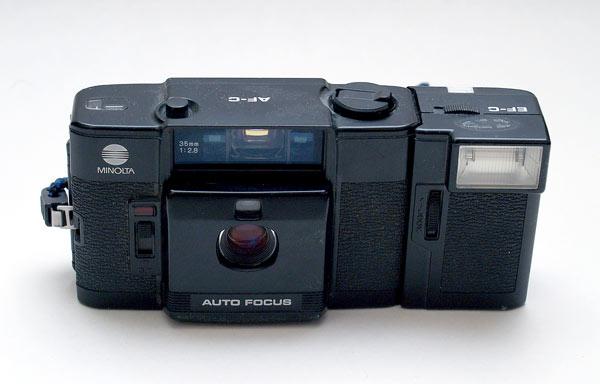 Minolta AF-C compact autofocus film camera