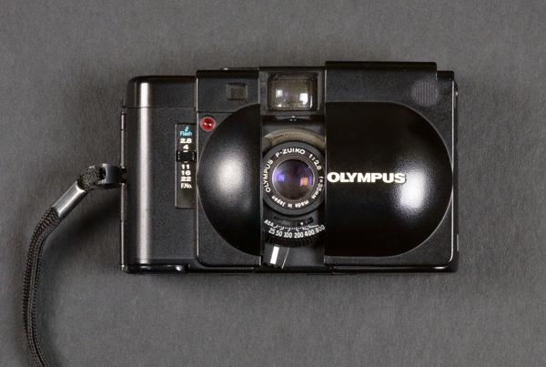 Olympus XA compact rangefinder film camera