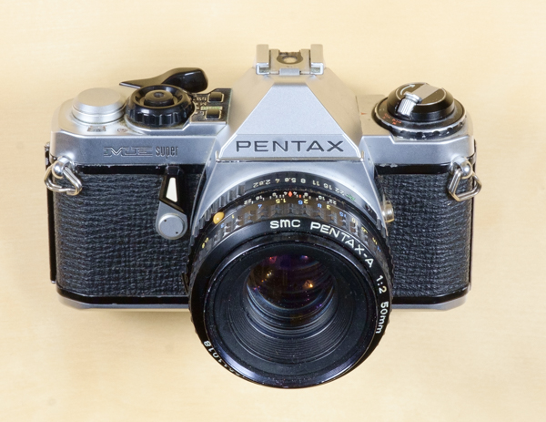 Pentax ME Super film SLR camera